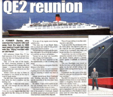 QE2 Story members visit QE2 in Dubai